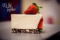 Rýchly a jednoduchý cheesecake :) | We Lift Together