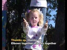 Reach Up High/Tofa Tafa - Children Love to Sing & Dance Kids Action Song with Lyrics