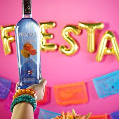 Best served with tacos, tamales and mariachis. Who's ready to fiesta!? Serve Habanero vodka cocktails to spice up your party!