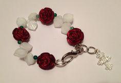 A Bushel of Roses Bracelet by URBANQUEST on Etsy, $9.95