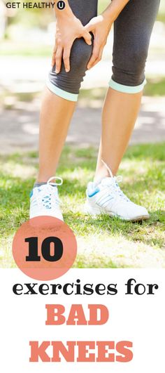 These lower-body exercises can help you combat knee pain!