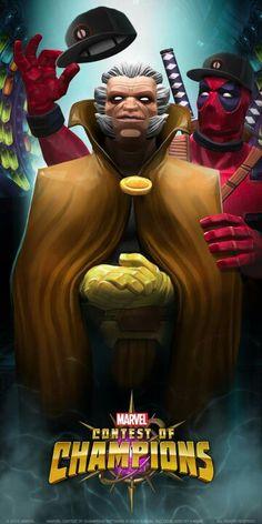 Marvel Comics Art, Marvel Avengers, Avengers Painting, Deadpool Love, Marvel Games, Contest Of Champions, Mundo Marvel, Marvel Wallpaper, Comic Art