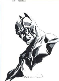 Batman by Lee Bermejo Comic Art