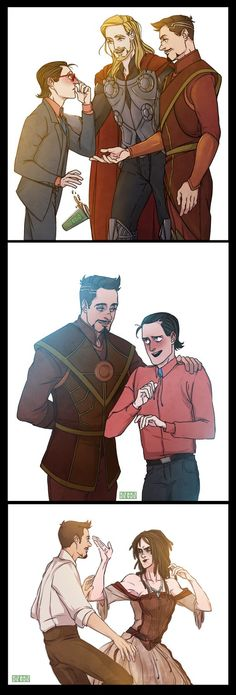 FROSTIRON: is my ultimate otp.. i guess by RinGreen on DeviantArt