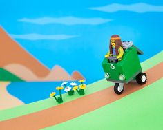 The 50 US states in LEGO