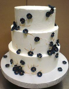 Navy Blue Wedding Cake Style Of Cakes Ideas