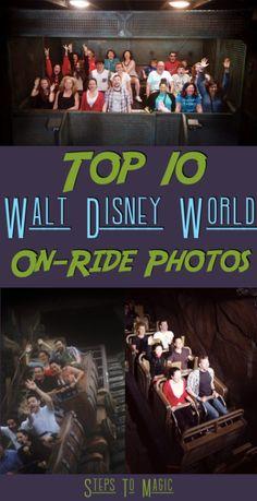 Top Ten On Ride Photos at Walt Disney World - Steps To Magic