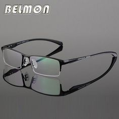 6f018a10ab6 Eyeglasses Frame Men Nerd Computer Optical Prescription Myopia Glasses  Spectacle Frame For Male Clear Lens 0