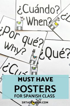 Check out ideas for Spanish classroom decor in elementary, middle, Spanish Classroom Decor, Future Classroom, Classroom Displays, Spanish Bulletin Boards, Class Bulletin Boards, High School Posters, Middle School Spanish, Traveling Teacher, Word Poster