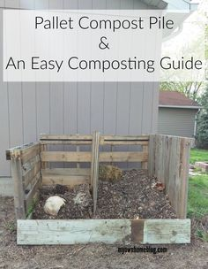 Regardless if you live in the city or out in the country, everyone needs a good ole compost pile.  Why?  You might not have a green thumb, but composting most of your normal garbage leads to tons of benefits