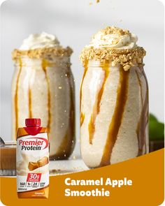Premier Protein Shakes, Healthy Protein Shakes, Protein Smoothie Recipes, Protein Rich Foods, High Protein Recipes, Smoothies, Herbalife Shake Recipes, Advocare Recipes, Ww Recipes