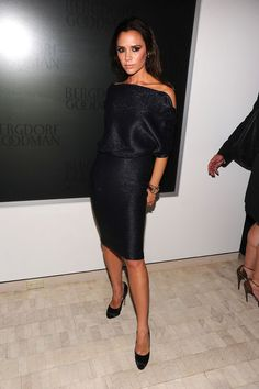 victoria beckham fashions pics | Victoria Beckham attends the Bergdorf Goodman celebration of Fashion's ...