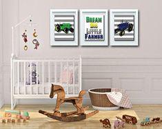 Wall Art For Nursery Wall Art For Bathroom Home by FKArtDesign Playroom Wall Decor, Boys Room Decor, Boy Room, Bathroom Wall Art, Nursery Wall Art, Nursery Decor, Bedroom Wall, Country Wall Decor, Farmhouse Wall Decor