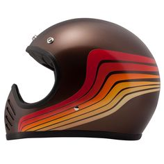 DMD has just released one of the coolest looking lids on the market today. The 'Seventy Five' channels the style of 1970s off-road helmets and marries the look to modern DOT and ECE safety standards.