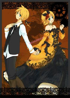 Vocaloid 2 Cosplay Kagamine Rin Kleid Daughter of Evil Rin Cosplay, Vocaloid Cosplay, Joker Cosplay, Marvel Cosplay, Rin E Len, Kagamine Rin And Len, Hatsune Miku, Kaito, Anime Costumes