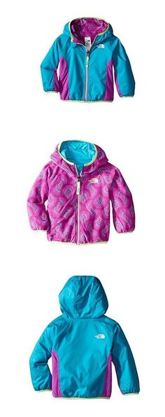 Outerwear 147202: The North Face Infant Girl Reversible Grizzly Peak Wind Jacket Bluebird 12 M Nwt -> BUY IT NOW ONLY: $33.74 on eBay!