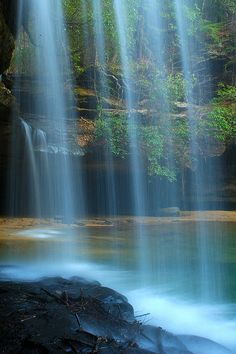 Upper Falls at Caney Creek, Alabama