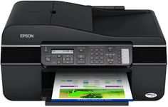 one printers provide high durability and productivity for business and family needs of your office. with a single ink providing amazing quality and maximum results with high speed and easy, inexpensive and efficient. automatic printing with 30 feeders page for copying, scanning and printing of documents directly from your device. This printer also has the advantage of photo lab and easy to use. It is 5760x1440 dpi resolution printer. scanning and a resolution of 1200 x 2400 dpi high…