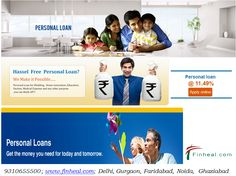 Personal Loan is usually used for holiday, marriage, home renovation, to pay the credit card dues, etc. We have an expert team who is handling the personal loans in Ghaziabad. We are the best loan company which is providing services in Delhi NCR. http://www.finheal.com/personal-loan-in-ghaziabad