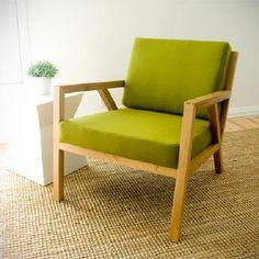 Truss Chair. $895. 26W x 31D x 30H. FSC-Certified Wood Frame.