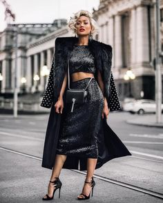 MaySociety — Street Style Look Collection From Micah Gianneli News Fashion, Fashion Week, Fashion 2017, Fashion Models, High Fashion, Fashion Looks, Fashion Outfits, Womens Fashion, Fashion Trends