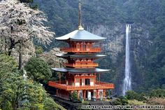 Kumano Kodo Trail, leading past three sacred shrines, tea houses and protector shrines in the Kii mountains south of Osaka. One of only two UNESCO recognised pilgrimage walks.