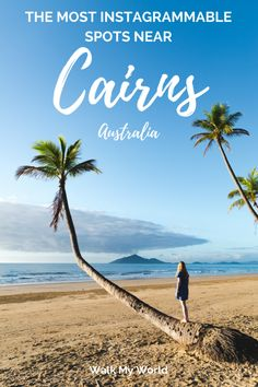 Tropical North Queensland is one of our favourite places in Australia and is so photogenic. There's so many great instagrammable spots near Cairns, so we have picked a few of our favourites for you.