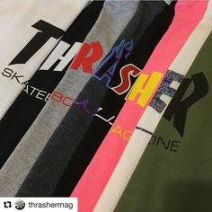 #Repost @thrashermag with @repostapp @palmisleskateshop in Montreal has a full selection #supportyourlocalskateshop