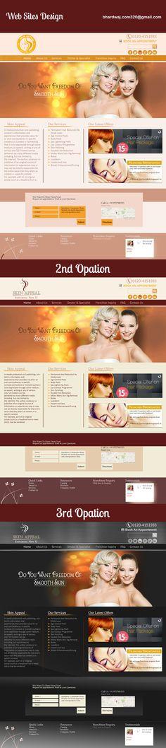 WebPage UI Design