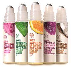 100% natuurlijke lippenolie van The Body Shop
