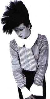 New Romantic style Leigh Bowery, Blitz Kids, 80s Goth, Romantic Goth, Roxy Music, Stranger Things Steve, 80s Hair, Strange Photos, New Romantics