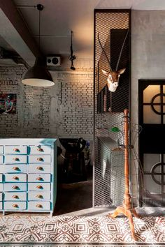 industrial salon and residence in Taiwan