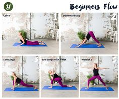Follow this sequence if you're new to Yoga and would like to get started, download the Yogaia app now and try our live and recorded classes on your mobile.