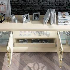 Aparadores de Diseño © Modernos y Clásicos【 100% CALIDAD 】 Modern Furniture Online, Desk, Console, Home Decor, Christmas, Credenzas, Modern Design, Flats, Xmas