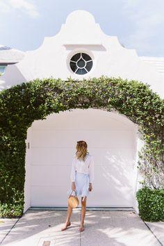 Classic, feminine spring style - Palm Beach, Florida