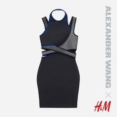 Alexander Wang H&M Fitted dress, $99 - holla! Must-have. http://www.hm.com/us/en/wangxhm