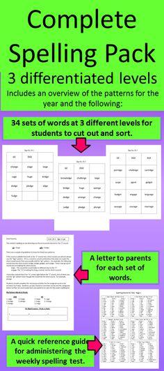 101 Best Spelling Images In 2013 Spelling Word Study