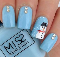 Today We Have Made A Photo Collection Of Several Cute Snowman Nail Designs That You Should Copy This Winter These Are So Easy To Be Done