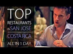 Best Restaurants in Costa Rica - San Jose ALL IN 1 DAY!