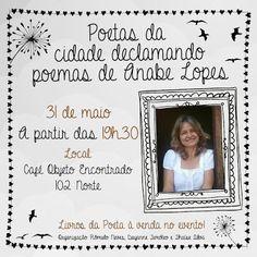 Maria Montillarez: Poetas da cidade declamando poemas de Anabe Lopes ...