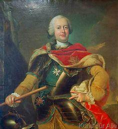 Ludwig Ernst, Herzog von Braunschweig-Wolfenbüttel (1718-1788) aka Duke of Brunswick-Wolfenbüttel, Duke of Kurland & Semgalen, Regent of The Austrian Netherlands / by Johann Heinrich Tischbein der Ältere.