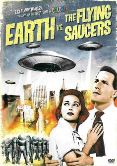 Earth vs. the Flying Saucers (1956): A tense and fast-paced alien invasion film that gets right down to business and has good special effects. http://scififilmfiesta.blogspot.com.au/2015/01/earth-vs-flying-saucers-1956.html