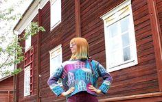 MMMay day 29, knitted sweater Knits, Denim, Sweaters, Jackets, Vintage, Fashion, Down Jackets, Moda, Fashion Styles