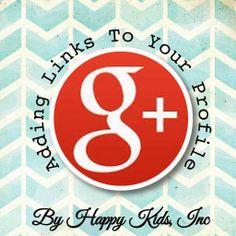 Must Have Blog Resource: Google Plus Custom Links #blogtips #googleplus