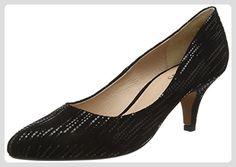 Lotus Damen Dandelion Pumps, Black (Blk Leather), 38 EU - Damen pumps (*Partner-Link)
