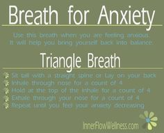 Breathing Exercise For Anxiety