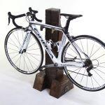 Railroad bike rack #upcycle