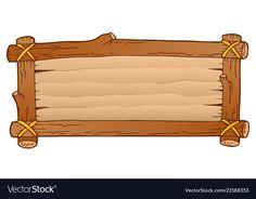 Wooden board theme image 1 vector image on VectorStock Jungle Theme Parties, Jungle Theme Birthday, Safari Theme, Frame Border Design, Page Borders Design, Paper Background Design, Hawaian Party, Deco Jungle, Xmas Wallpaper