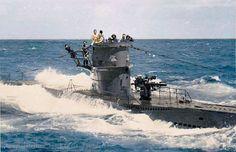 German U-96 submarine.