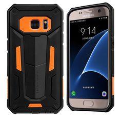 Galaxy S7 Case, Nillkin [Defender II] Shock Absorption Hard PC Core Flexible TPU  | eBay
